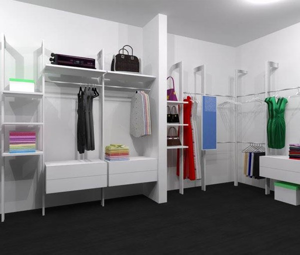 Excel Open Concept Wardrobe Cw Pole System Accessories Houstop Beauteous Bedroom Furniture Accessories Concept